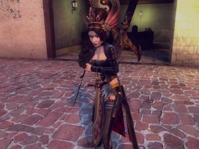 Модель игроков Dynasty Warrior Elizabeth для CS:GO