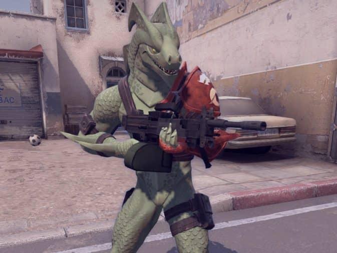 Модель игроков Hybrid - Fortnite для CS:GO