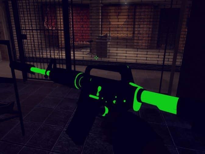 Модель M4a1 - Silencer Neon для CS:GO