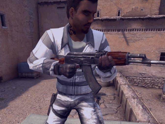Модель игроков Prisoners Pack для CS:GO