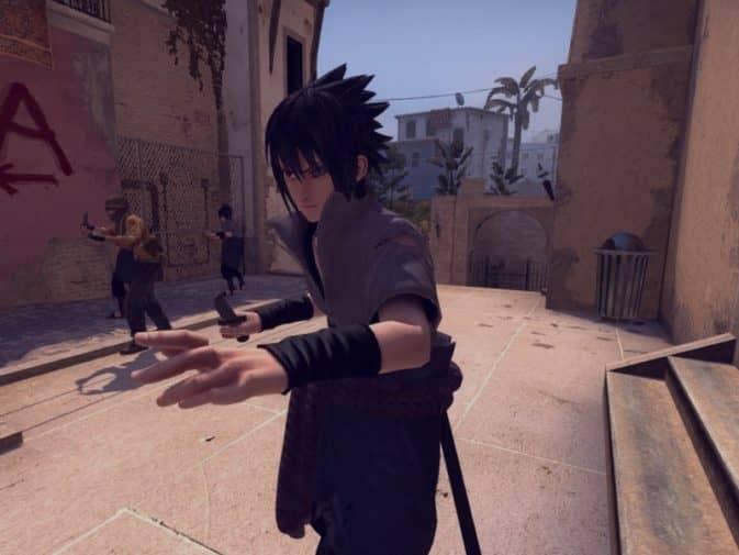 Модель игроков Sasuke Uchiha для CS:GO