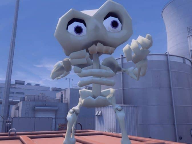 Модель игроков Skeleton для CS:GO