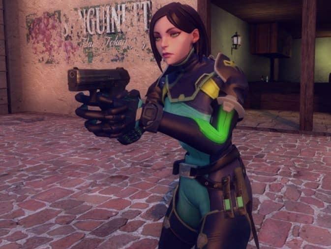 Модель игроков Viper from Valorant для CS:GO