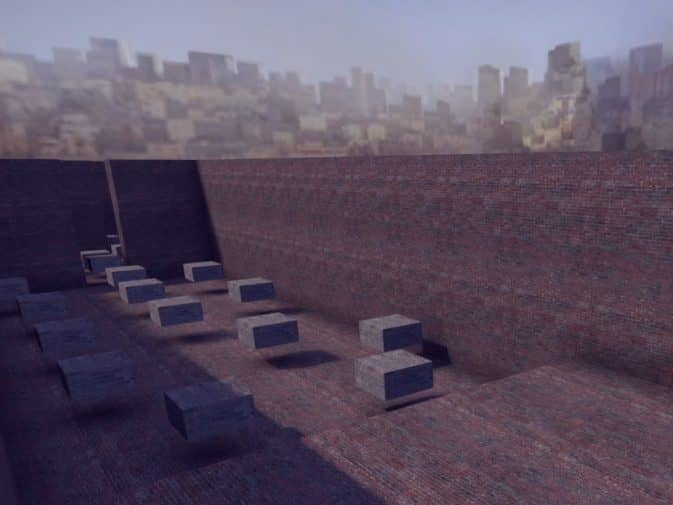 Карта bhop_brickjump для CS:GO
