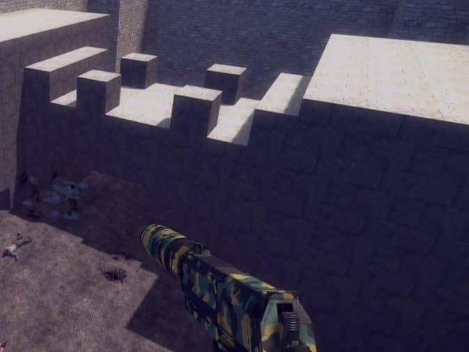 Карта breakwall_minicastle для CS:GO
