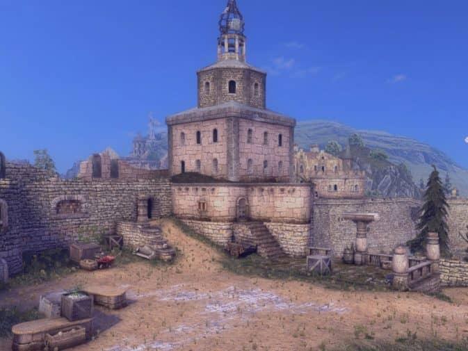 Карта de_convent для CS:GO