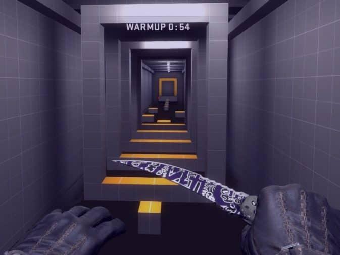 Карта Bhop_Rooms для CS:GO