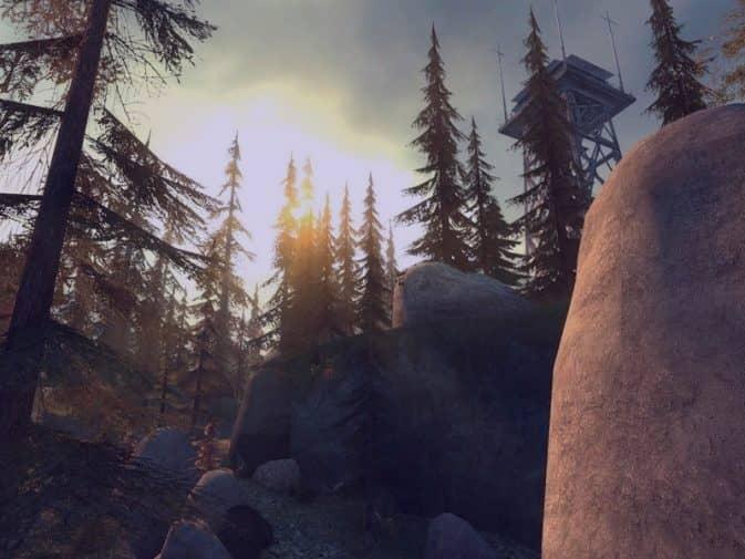 Карта de_forest для CS:S