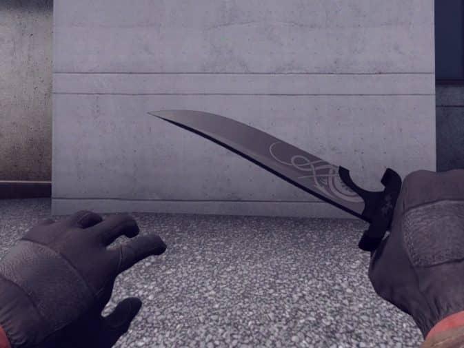 Модель Dragon Blade для CS:GO