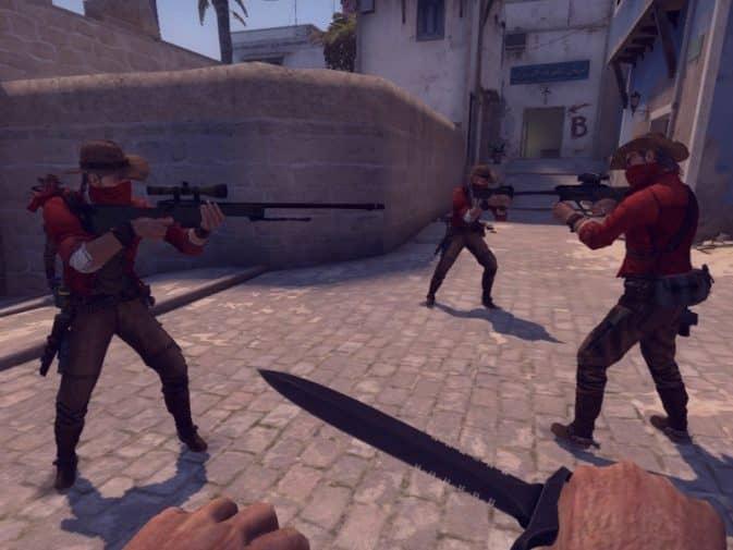 Модель игроков Gunslinger для CS:GO