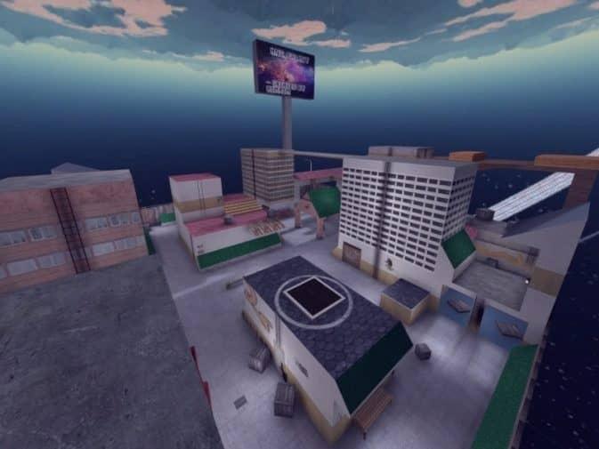 Карта hns_galaxy для CS:GO