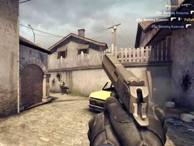 Как запретить оружие в кс го