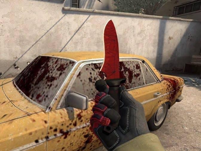 Красивые ножи кс го до 10000 рублей