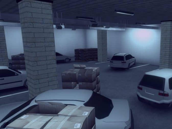 Карта am_carpark для CS:GO