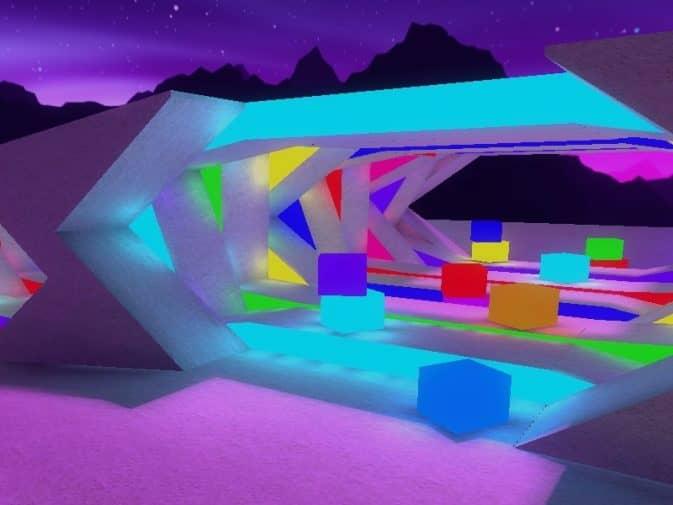 Карта awp_neon_space для CS:GO