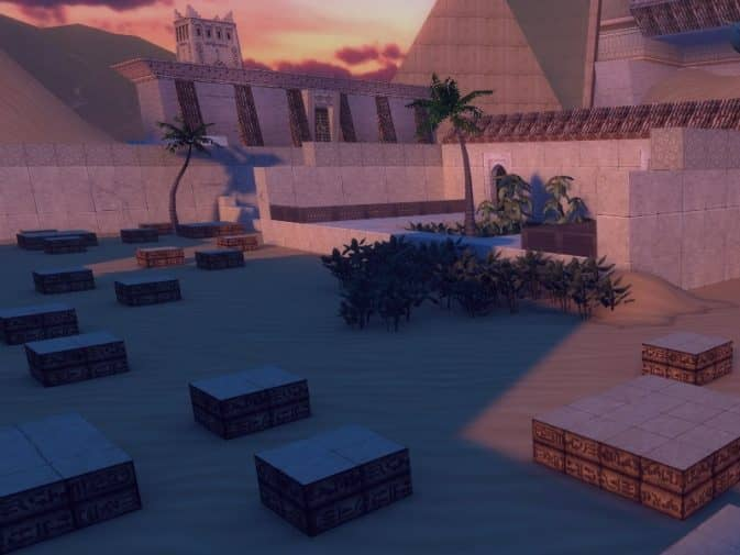Карта bhop_egyptian_ruins для CS:S