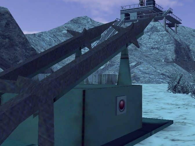 Карта hg_snowdustrialzone для CS:1.6