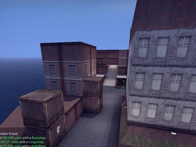 Карта hns_xcity для CS:GO