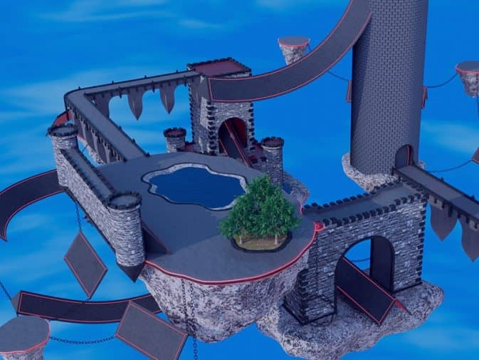 Карта surf_castle для CS:GO