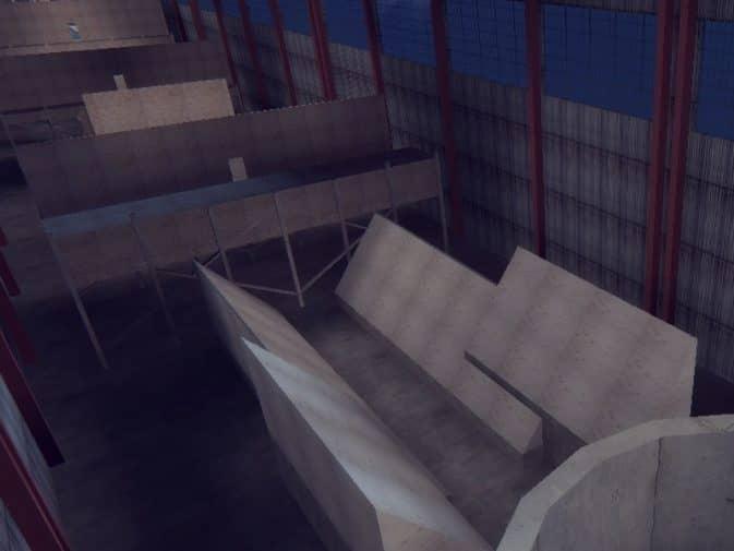 Карта surf_warehouse для CS:S