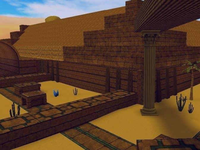 Карта bhop_ancient_temple для CS:S