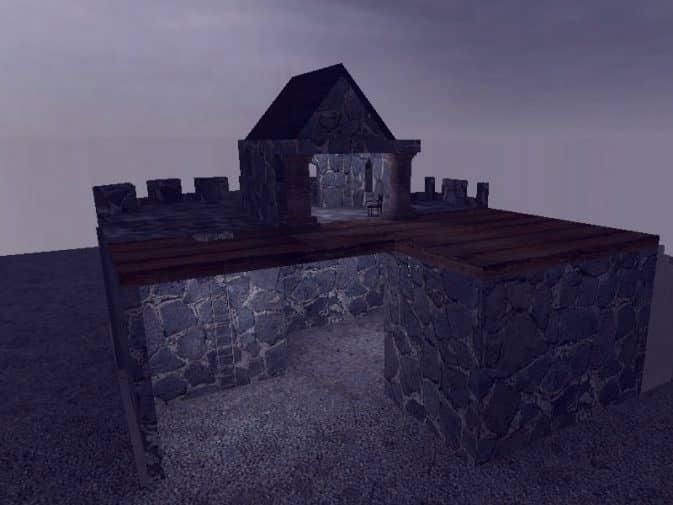 Карта de_castle для CS:S
