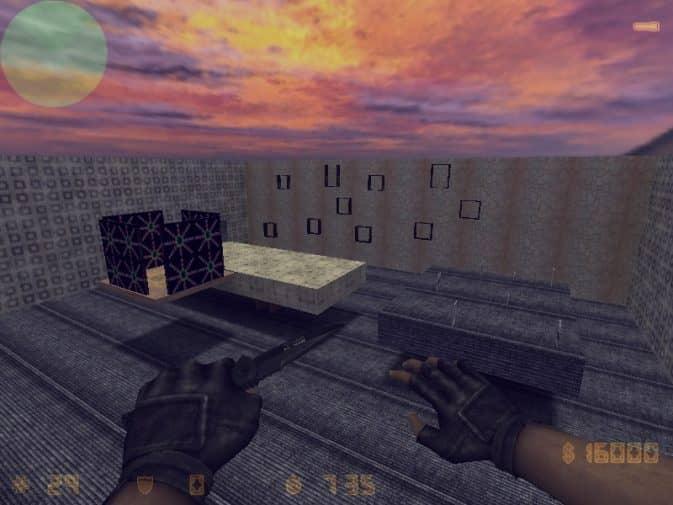 Карта aim_muscle_memory_map для CS:1.6