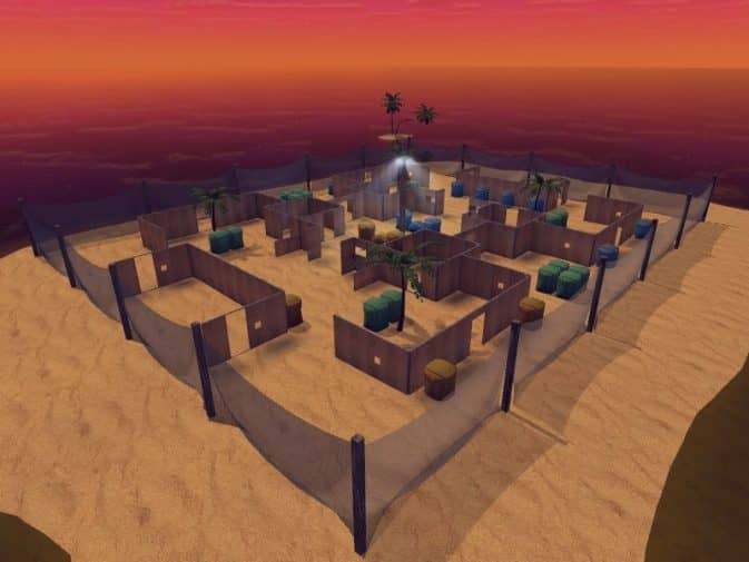 Карта aim_paintball_island_v2 для CS:S