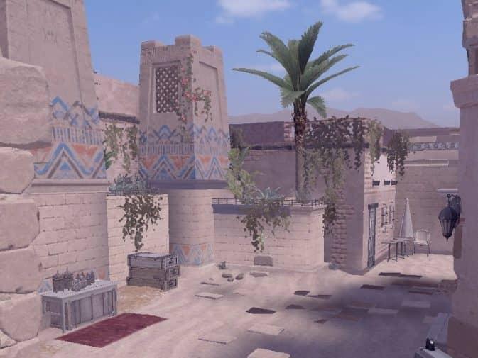 Карта ar_anubis_strip для CS:S